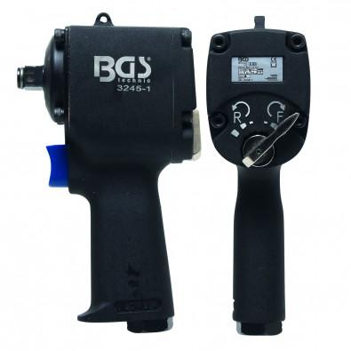 BGS Druckluft-Schlagschrauber, 12,5 (1/2), 678 Nm, extra kurz 98 mm - 3245-1