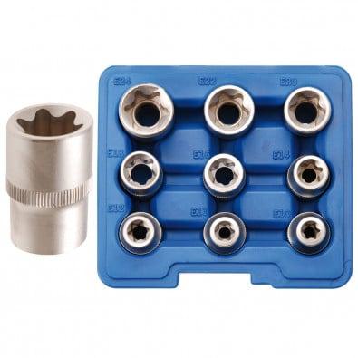 BGS 9-tlg. Steckschlüssel-Einsatz-Set - 6425