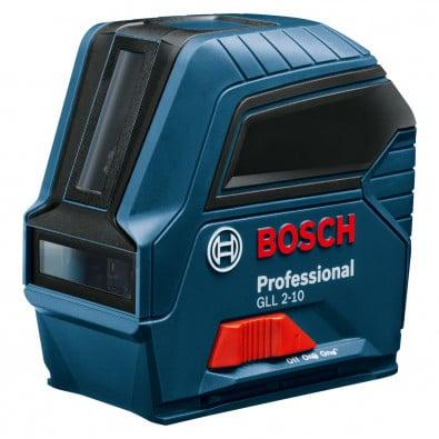 Bosch Linienlaser GLL 2-10 inkl. Batterien in Schutztasche - 0601063L00