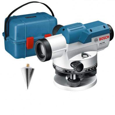 Bosch optisches Nivelliergerät GOL 20 D in Transportkoffer - 0601068400