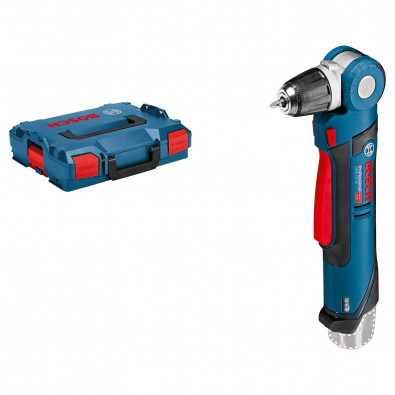 Bosch Akku-Winkelbohrmaschine GWB 12V-10 Clic&Go Solo in L-Boxx - 0601390909