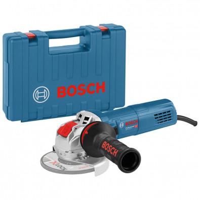 Bosch Winkelschleifer GWX 9-115 S 900 W mit Handwerkerkoffer 115 mm - 06017B1000