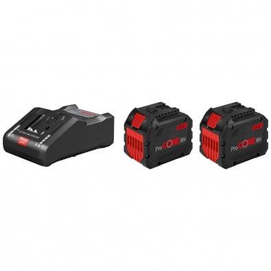 Bosch Starter-Set 2x Akkupack ProCORE18V 12,0 Ah + Ladegerät GAL 18V-160 C - 1600A016GY