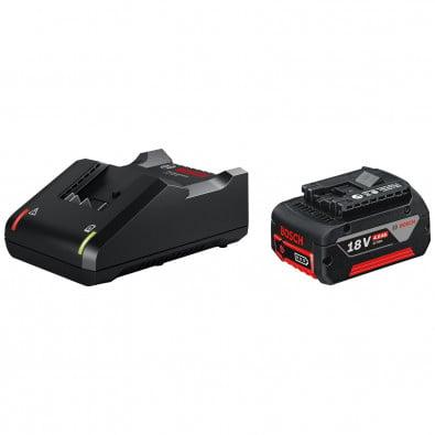 Bosch Starter-Set 1x Akku GBA 18V 4,0 Ah + Ladegerät GAL 18V-40 - 1600A01B9Y