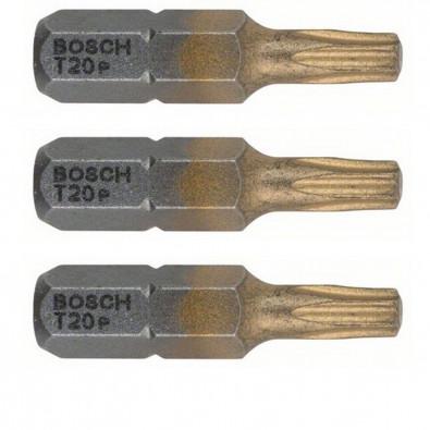 Bosch Schrauberbit Max Grip, T20, 25 mm, 3er-Pack - 2607001691