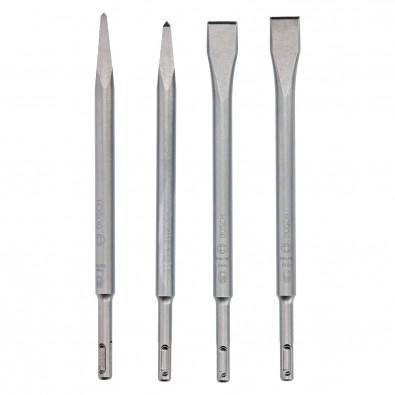 Bosch Meißelset SDS plus 4tlg. - 2607017516