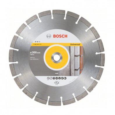 Bosch Diamanttrennscheibe Expert for Universal, 300 x 20 x 2,8 x 12 mm - 2608603771
