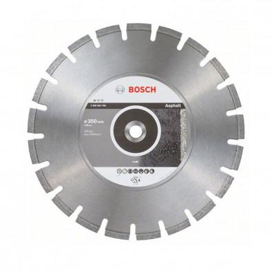 Bosch Diamanttrennscheibe Standard for Asphalt, 350 x 20 x 3,2 x 10 mm - 2608603788