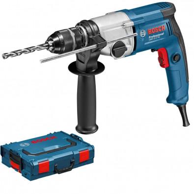Bosch Bohrmaschine GBM 13-2 RE mit Schnellspannbohrfutter in L-Boxx 750 W - 06011B2003