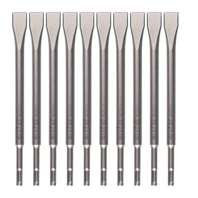 Bosch Flachmeißel mit SDS-plus-Aufnahme 20x250 mm 10er-Pack 2608690131