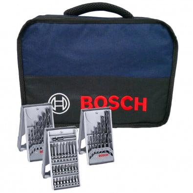 Bosch Softbag inkl. Bit- und Bohrer-Sets