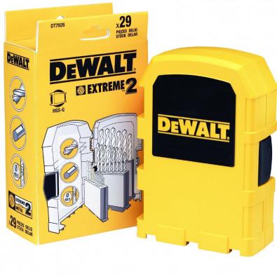 Dewalt EXTREME Metallbohrer-Set 29tlg. HSS-G - DT7926