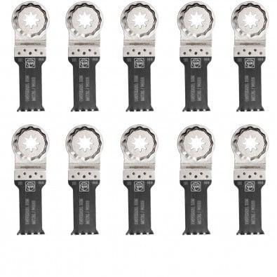Fein 10x E-Cut Universal Sägeblatt StarlockPlus 28 mm - 63502151240