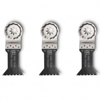 Fein 3x E-Cut Universal Sägeblatt StarlockPlus 44 mm - 63502152220