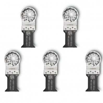 Fein MultiMaster 5x Long-Life E-Cut Sägeblatt 35mm Starlock - 63502160230