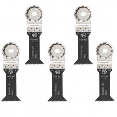 Fein 5x E-Cut Standard Sägeblatt StarlockMax 42 mm - 63502202230