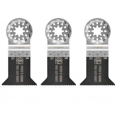 Fein 3x E-Cut Long-Life Sägeblatt Starlock 50 mm - 63502221220