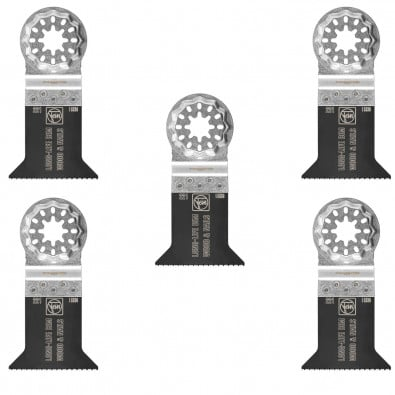Fein 5x E-Cut Long-Life Sägeblatt Starlock 50 mm - 63502221230