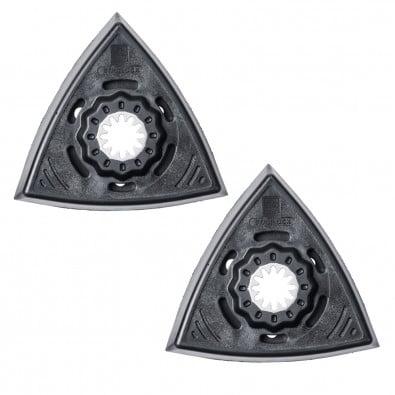 Fein Schleifplatte, Dreiecksform, gelocht (2 Stk.) 63806136220