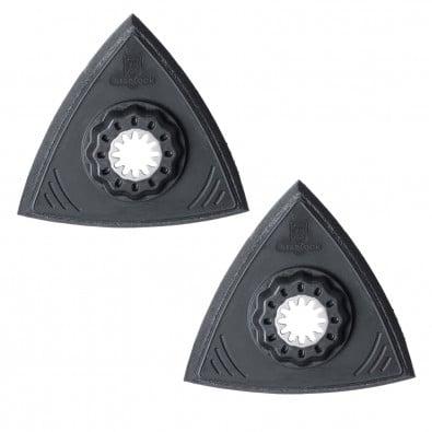 Fein Schleifplatte, Dreiecksform, ungelocht, superweich (2 Stk.) 63806141220