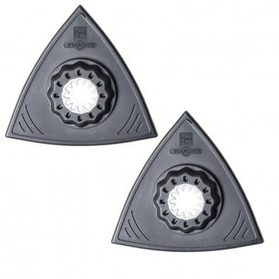 Fein Schleifplatte, Dreiecksform, flach (2 Stk.) 63806142220