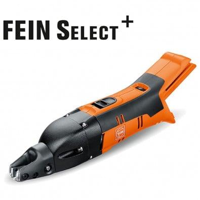 Fein Akku-Schlitzschere ABSS 18 1.6 E Select 1,6 mm +  Zubehör im Koffer - 71300361000