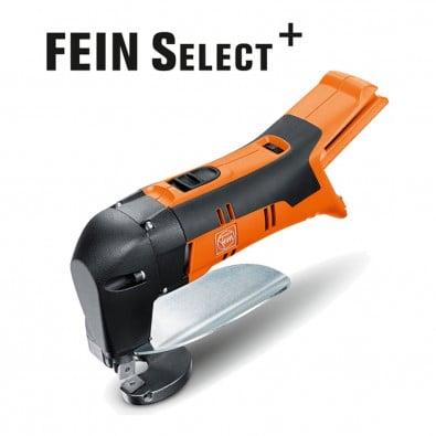 Fein Akku-Blechschere ABLS 18 1.6 E Select 1,6 mm +  Zubehör im Koffer - 71300461000