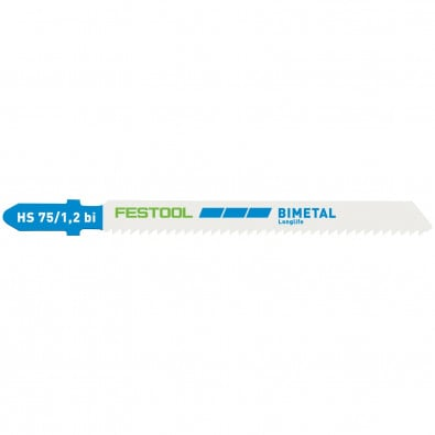 Festool 5x Stichsägeblatt HS 75/1,2 BI - 204270 ersetzt 486557