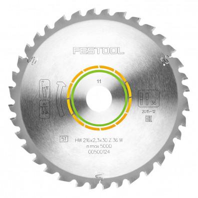 Festool Universal-Sägeblatt 216x2,3x30 W36 - 500124