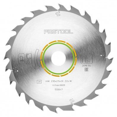 Festool Standard-Sägeblatt 230 x 2,5 x 30 W24 - 500647
