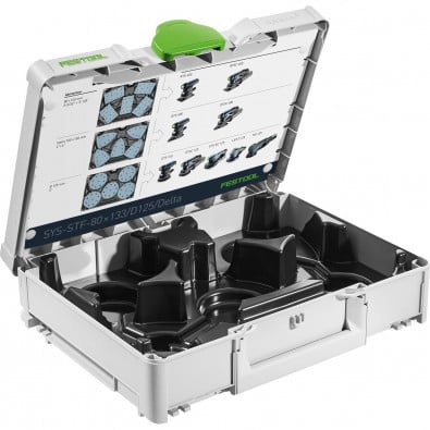 Festool Systainer³ SYS-STF-80x133/D125/Delta - 576781