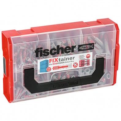 Fischer 1x DUOPOWER mit Schraube -FIXtainer 210-tlg.  - 535969