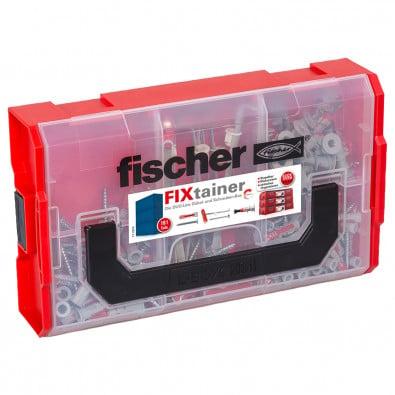 Fischer FIXtainer DUOLINE Dübel- und Schrauben-Box 181tlg. - 548862