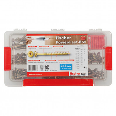 Fischer Power-Fast Box 245 tlg. - 667005