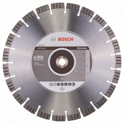Bosch Diamanttrennscheibe Best for Abrasive, 350 x 20,00+25,40 x 3,2 x 15 mm #2608602686