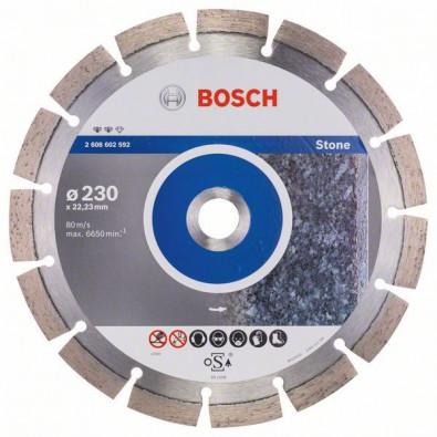 Bosch Diamanttrennscheibe Expert for Stone, 230 x 22,23 x 2,4 x 12 mm #2608602592