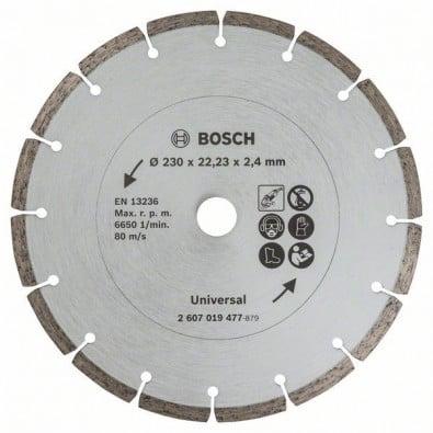 Bosch Diamanttrennscheibe für Baumaterial, Durchmesser: 230 mm - 2607019477