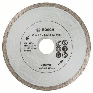 Bosch Diamanttrennscheibe für Fliesen, Durchmesser: 125 mm - 2607019473