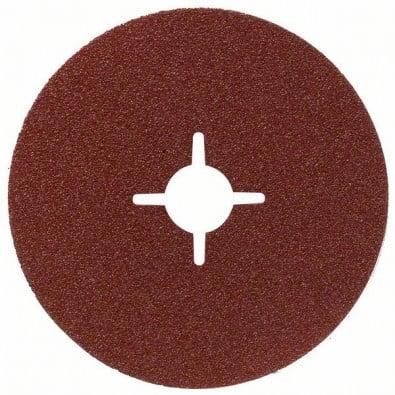 Bosch Fiberschleifscheibe Expert for Metal, Korund, 230 mm, 22 mm, 100 - 2608605494