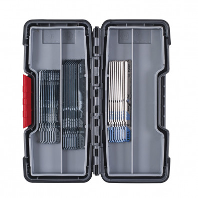 Bosch 30tlg. Stichsägeblätter ToughBox Basic for Wood and Metal - 2607010903