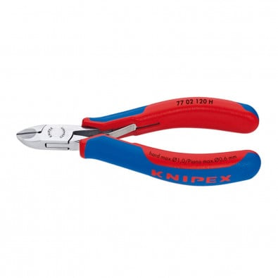 Knipex Elektronik-Seitenschneider mit Hartmetallschneide #7702120H