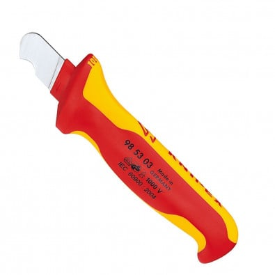 Knipex Abmantelungsmesser 985303 - 98 53 03
