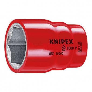 """Knipex Stechschlüsseleinsatz S 19,0 mm 3/8"""" - 98 37 19"""