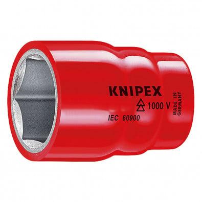 """Knipex Stechschlüsseleinsatz S 19,0 mm 1/2""""  984719 - 98 47 19"""