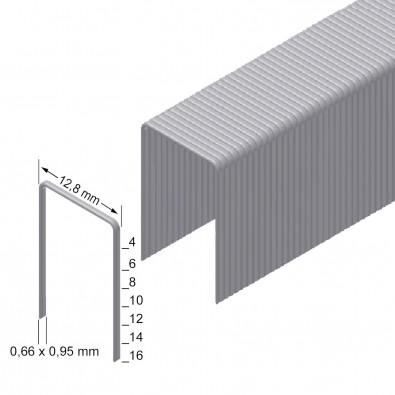 Prebena Heftklammern Type A, verzinkt, 10mm - A10CNK