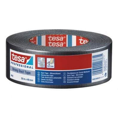 Tesa Medium Steinband (silber) 50m x 48mm - 04662