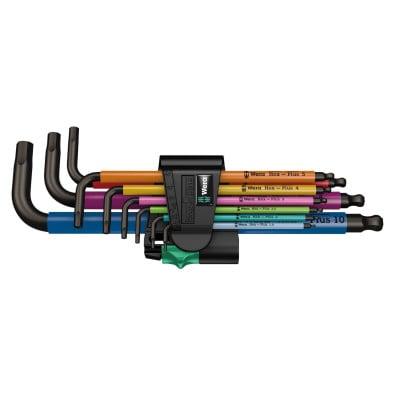 Wera Winkelschlüsselsatz 950 SPKL/9 SM N HF SB  - 022210