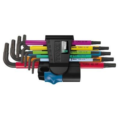 Wera 967 SL/9 TORX® HF Multicolour Winkelschlüsselsatz mit Haltefunktion - 024179