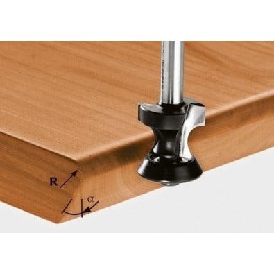 Festool Abrund-/Fasefräser HW Schaft 8 mm HW S8 D17,5/R6/15°