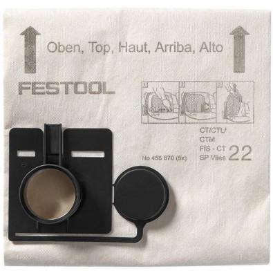 Festool Filtersack FIS-CT 33 SP VLIES/5